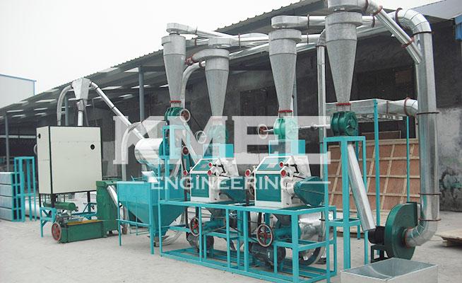 10tpd mini automatic flour plant