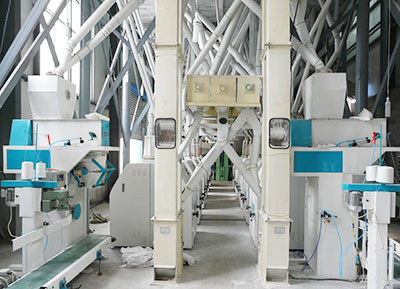 160TPD wheat flour mill plant in Argentina