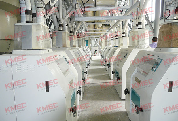 160tpd wheat flour milling machines