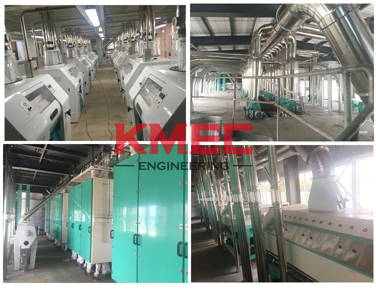 160tpd automatic wheat flour plant milling workshop