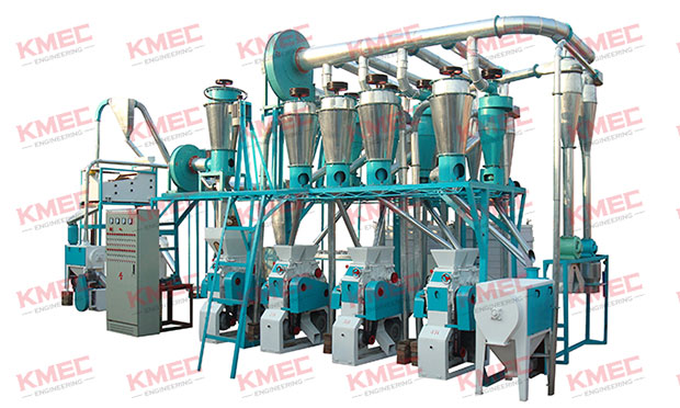 20tpd small wheat flour milling line