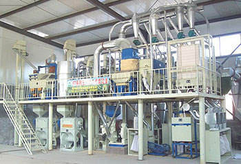 40tpd maize flour mill