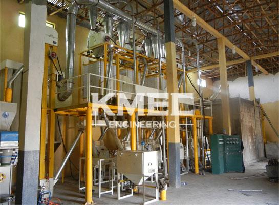 40tpd medium wheat flour milling plant