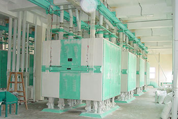 purifier system of 500tpd wheat flour mill