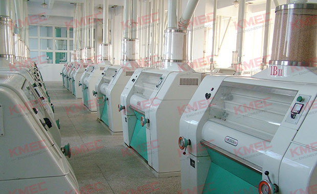 500tpd wheat flour production mill