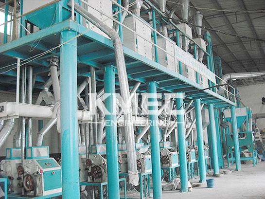 60tpd medium wheat flour milling plant
