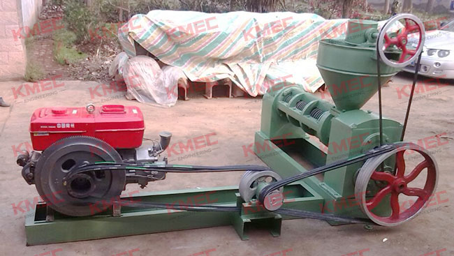 oil press with generator