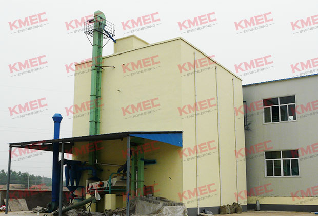 160tpd wheat flour mill outer look