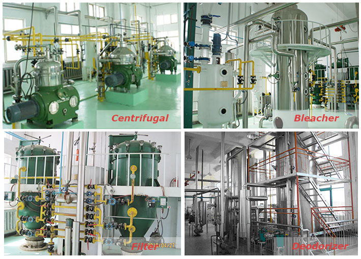 main machinery for oil refinery process