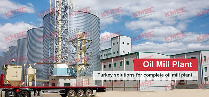 turnkey oil mill plant