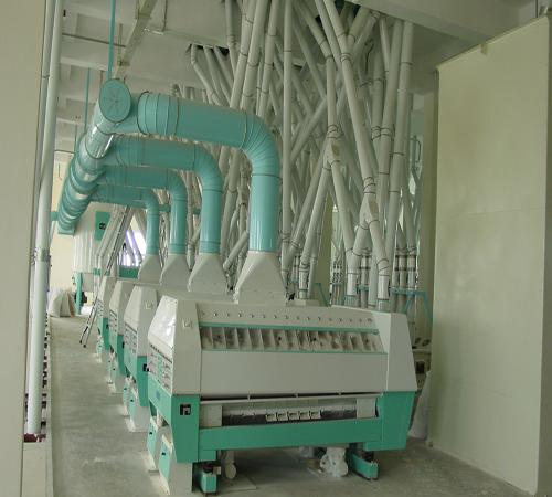 500t wheat mills