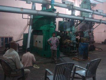 oil extraction plant at India