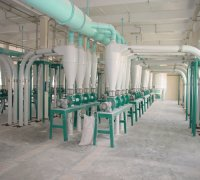 500t complete wheat flour mill project