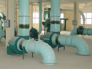 low pressure centrifugal fans systems