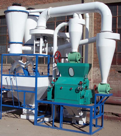 flour milling machinery system