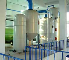 solvent extraction plant workshop