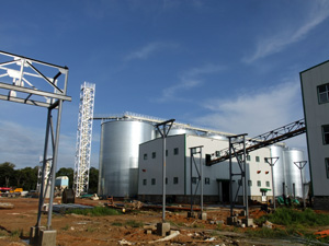 Oil Extraction Plant at Zambia