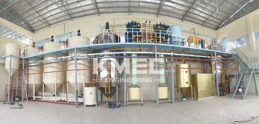 middle size cottonseed oil refinery and fractionation plant Afghanistan